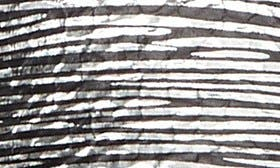 Pewter Stripe Faux Leather swatch image