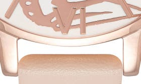 Nude Peach/ Butterfly swatch image