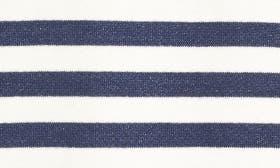 Navy/ Ivory Stripe swatch image