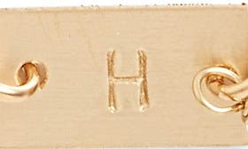 14K Gold Fill H swatch image