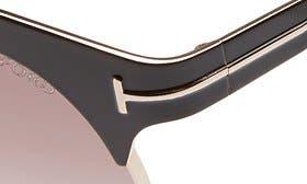 Shiny Black/ Gradient Brown swatch image