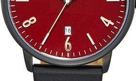 Burgundy/ Black swatch image