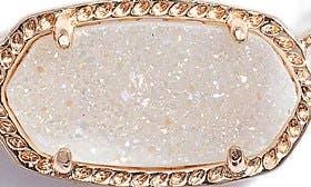 Iridescent Drusy/ Rose Gold swatch image