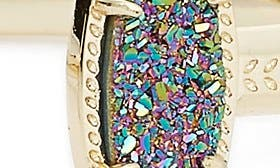 Multi Drusy/ Gold swatch image