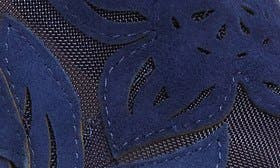 Deep Azul Suede swatch image