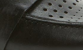 Black Perf Leather swatch image