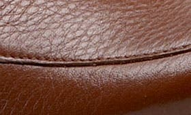 Mid Brown Soft Tumbled Leather swatch image