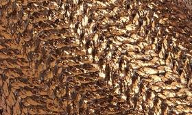 Bronze Basket Woven Fabric swatch image