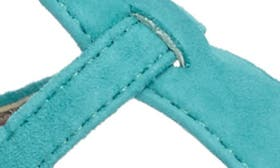 Gulf Blue Leather swatch image