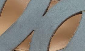 Sage Nubuck Leather swatch image