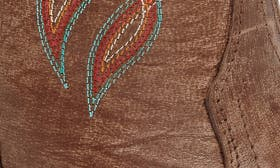 Burnished Brown Leather swatch image