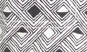 Ivory- Black Print swatch image