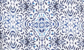 Leafy Tile Print swatch image