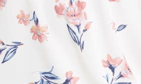Ivory-Pink Floral swatch image