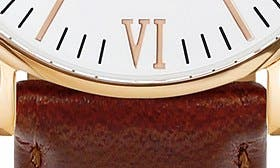 Brown/ White/ Rosegold swatch image