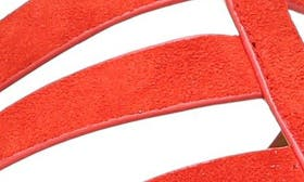 Pop Red Suede swatch image