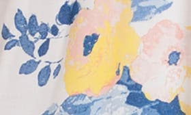Ivory/ Denim Print swatch image