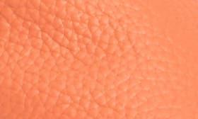 Neon Orange Leather swatch image