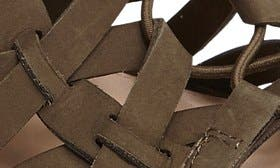 Dark Forest Nubuck Leather swatch image selected