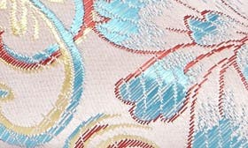 Floral Brocade Print Fabric swatch image