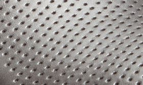 Pewter Metallic Leather Perf swatch image