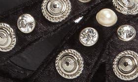 Black Crush Velvet Silver swatch image