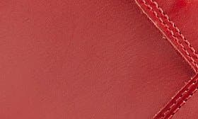 Rosso Leather swatch image