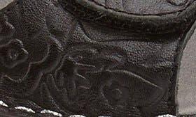 Yeehaw Black Leather swatch image