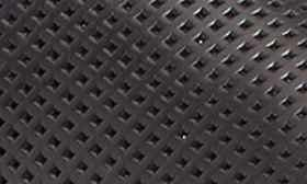 Perforated Black Leather swatch image