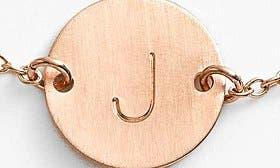 14K Gold Fill J swatch image
