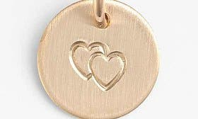14K Gold Fill Heart swatch image