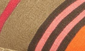 Orange/ Pink Stripe Canvas swatch image