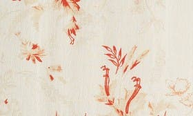 Ivory Pink Floral Paper swatch image