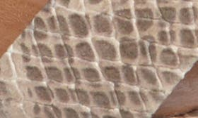 Natural Snake Faux Leather swatch image