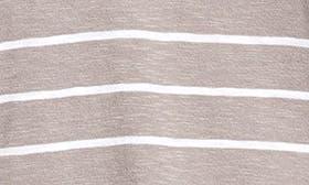 Grey- White Julia Stripe swatch image