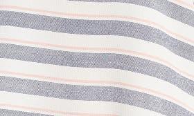 Navy/ Blush Stripe swatch image