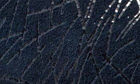Navy Embossed Leather swatch image