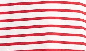 Red/ White Stripe swatch image