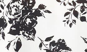 Ivory/ Black Floral swatch image