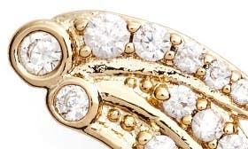 White Cz/ Gold swatch image