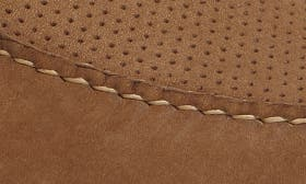 Taupe Nubuck Leather swatch image