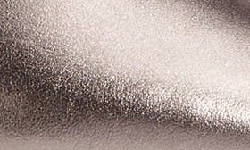 Pewter Metallic Leather swatch image selected