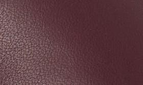 Deep Plum Leather swatch image