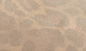 Natural Leopard Suede swatch image