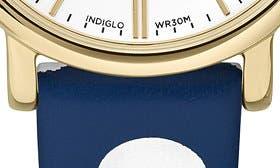 Navy/ White Poka Dot/ Gold swatch image