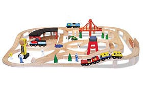 Wooden Railway Set swatch image