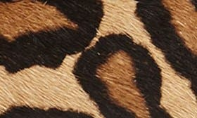 New Nude Leopard Calf Hair swatch image