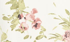 Ivory Floral Print swatch image