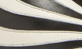 Zebra Leather swatch image