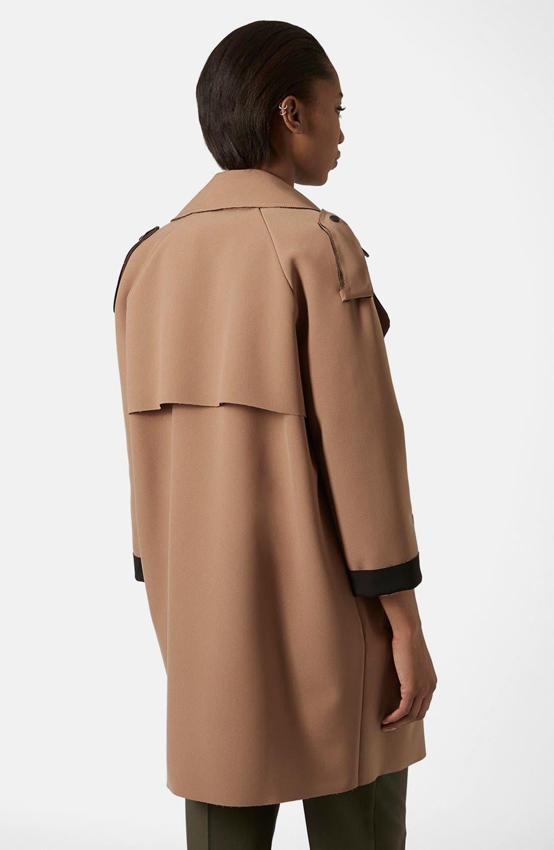 Alternate Image 2  - Topshop 'LBonded' Trench Coat